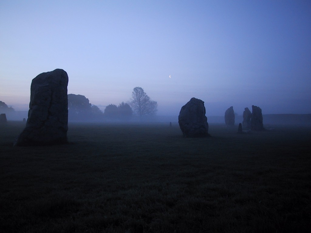 The Lodge, Avebury - The majesty of Avebury's morning sunrise.
