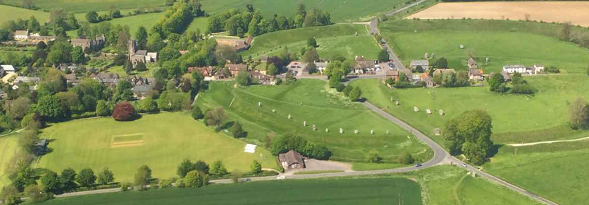 Avebury-Bed-and-Breakfast-airel-shot